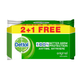 Dettol Antibacterial Multi Use Original Wipes - 120 wipes