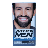 Mustache Beard Color Real Black M-55 Gel -  1 Count