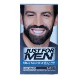 Mustache Beard Color Real Black M-55 Gel -  1 Count