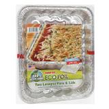 Foil Lasagna Pan & Lids -  2 Pans