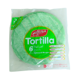 Tortilla Spinach Wraps - 250G