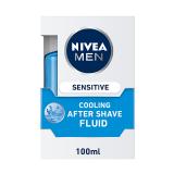Men Sensitive Cool After shave fluid - 100Ml