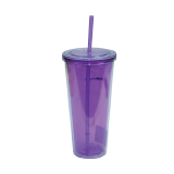 Plastic tumbler transparent - 1 PCS