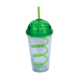 Plastic tumbler Green color - 1 PCS