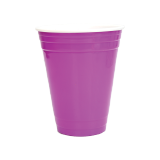 Colored Plastic Cups - 24 PCS