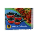 Cookware aluminum non-stick set - 8 PCS