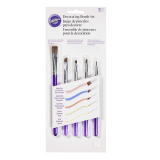 Decorating brush set - 5 PCS