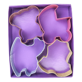Baby Theme Cookie Cutter Set - 4 PCS