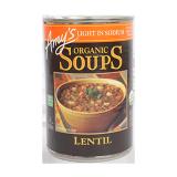 Light In Sodium Organic Lentil Soup - 411G