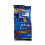 Blue II Plus Men's Disposable Razors - 500Ml