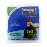 Large Tie Trash Bags -  50 Gallon