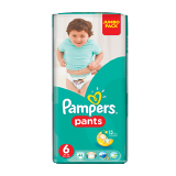 Pampers Pants Diapers Size 6 Extra Large 16+ Kg Jumbo Pack - 44 Count