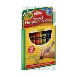 Triangular Crayons - 8PCS