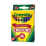 Crayons set - 16 count