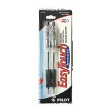 Retractable black pen - 2PCS
