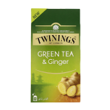 Ginger Green Tea -  25 Pieces