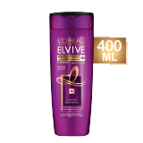 Elvive Keratin Straight Shampoo For Unmanageable & Frizzy Hair -  400 Ml