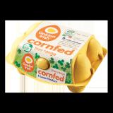 Cornfed Free Range large/Medium Eggs -  6 Pieces