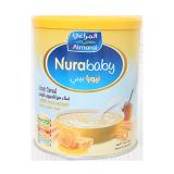 Nurababy Instant Cereal Wheat Milk & Honey - 400G