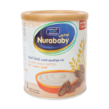Nurababy Infant Cereal Wheat Milk Dates - 400G