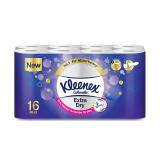 Kleenex Cottonelle Extra Dry Toilet Tissues Rolls - 16 Rolls