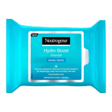 Hydro Boost Facial Wipes - 25 Wipes