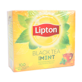 Black tea with mint - 100 count