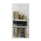 Golgd Cutlery - 18PCS