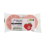 Organic Yogurt and Strawberry Rice Cakes - 60G