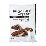 Organic Mini Chocolate Rice Cakes - 60G