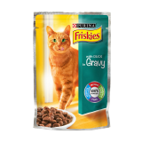 Friskies Cat Food Pouch with Duck in Gravy - 100G