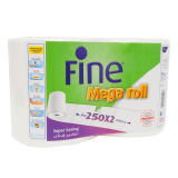 Mega Roll Towel -  2 Rolls x 250 Meters