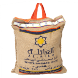 White Basmati Rice Ambar - 5Kg