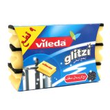 Glitzi Sponge with Cleaning Crystal -  9 Pieces