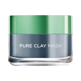 Pure Clay Black Mask with Charcoal -  50 Ml