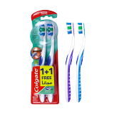 360 Whole Mouth Clean Toothbrush Medium -  1 + 1 Free