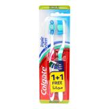 Triple Action Medium Toothbrush -  1 + 1 free