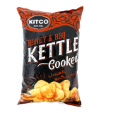 Cooked Potato Chips With Honey & Bbq -  170G