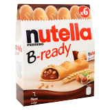 B-Ready Wafer Filled With Nutella -  6 x 22G