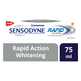 Rapid Action Whitening Toothpaste -  75 Ml