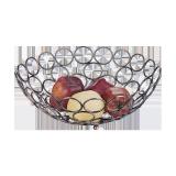 Metal Fruits basket 12.25 inch - 1 PCS