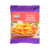 Frozen Sliced organic Peaches - 10Z
