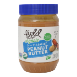 Organic Smooth & Salted Peanut Butter -  510G