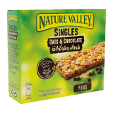 Singles Oats & Chocolate Bars - 21G