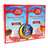 Whipping Cream Mix -  15%Off 2 x 140G