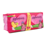 Missteen Feminine Pads Extramince Normal with wings -  20 Pads