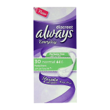 Discreet Pantyliners Normal -  30 Count