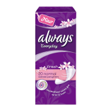 Daily Panty Liners Fresh & Protect -  20 Count