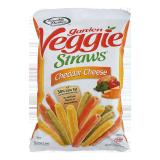 Garden Veggie Straws Chedder Cheese -  141G
