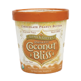 Coconut milk organic chocolate Peanut butter ice cream - 473Ml